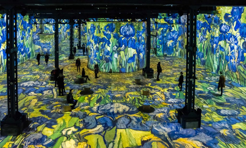 Van Gogh, Starry Night Exhibition, Bonnes Adresses Paris.