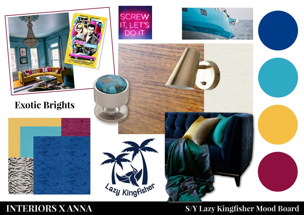 Lazy Kingfisher Moodboard: Colour Trends for 2020