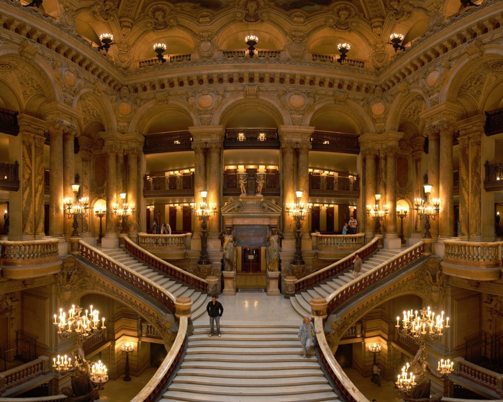 Grand Staircase at the Palais Garnier, Paris