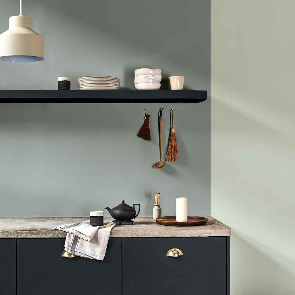 Dulux Colour of the Year 2020: Tranquil Dawn Kitchen Inspiration