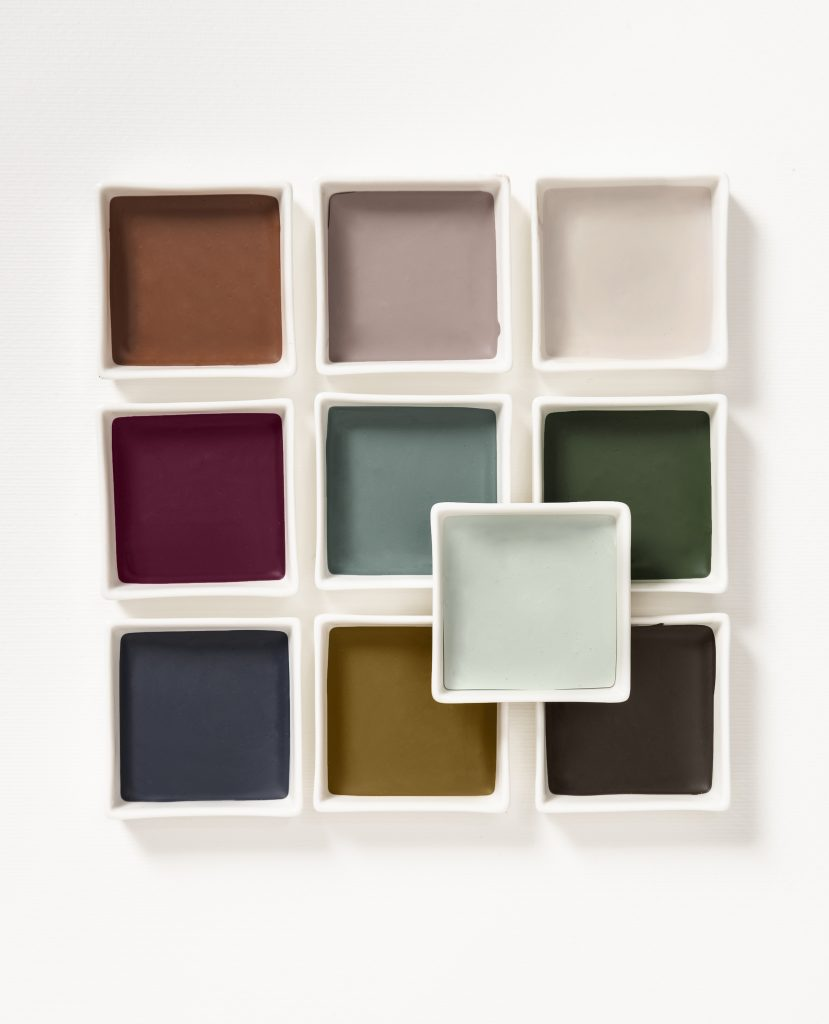 Dulux Colour of the Year 2020: Tranquil Dawn Creativity Palette