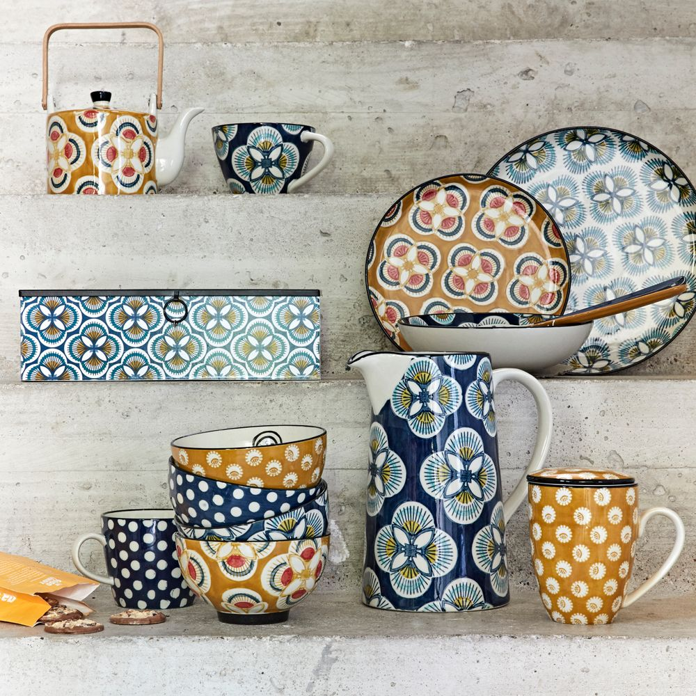 Tableware can help creat crazy home vibes