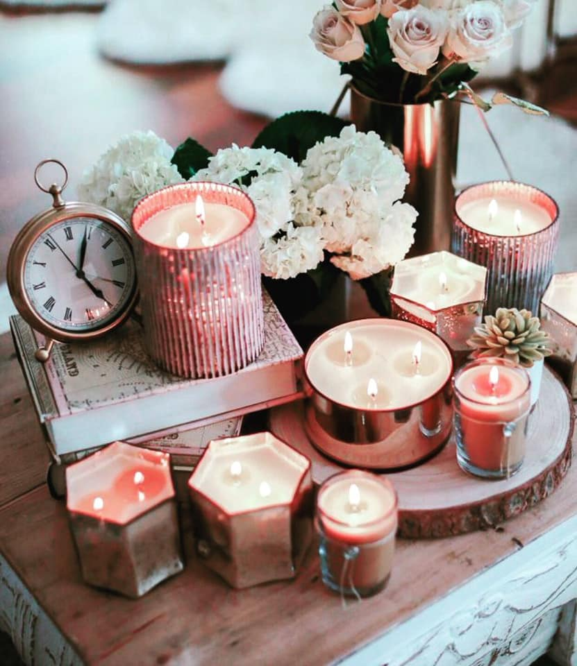 Candles for a Cozy Home