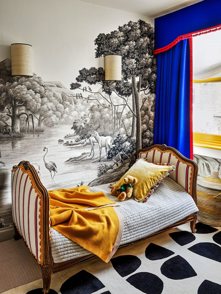 Colourful Maximalist Home Tour: Kid's Room 1