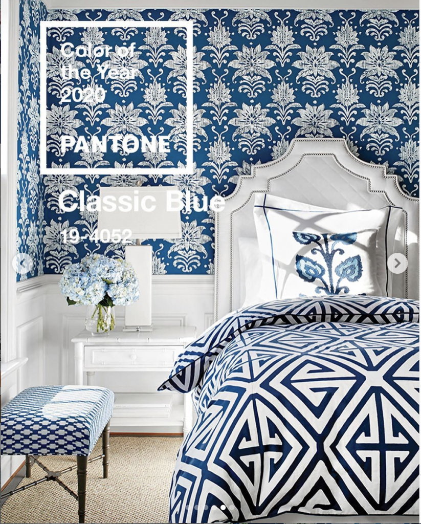 Pantone Colour of the Year 2020: Classic Guest Room