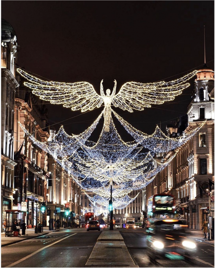 Regent Street Christmas Lighting