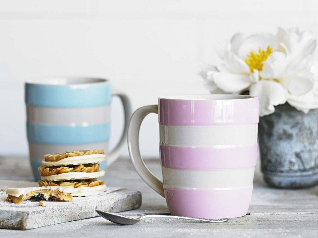 Colourful Tablescapes: Mugs