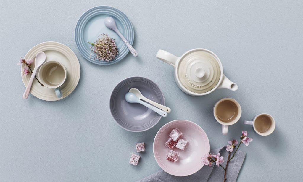 Colourful  Tablescapes: Pastel