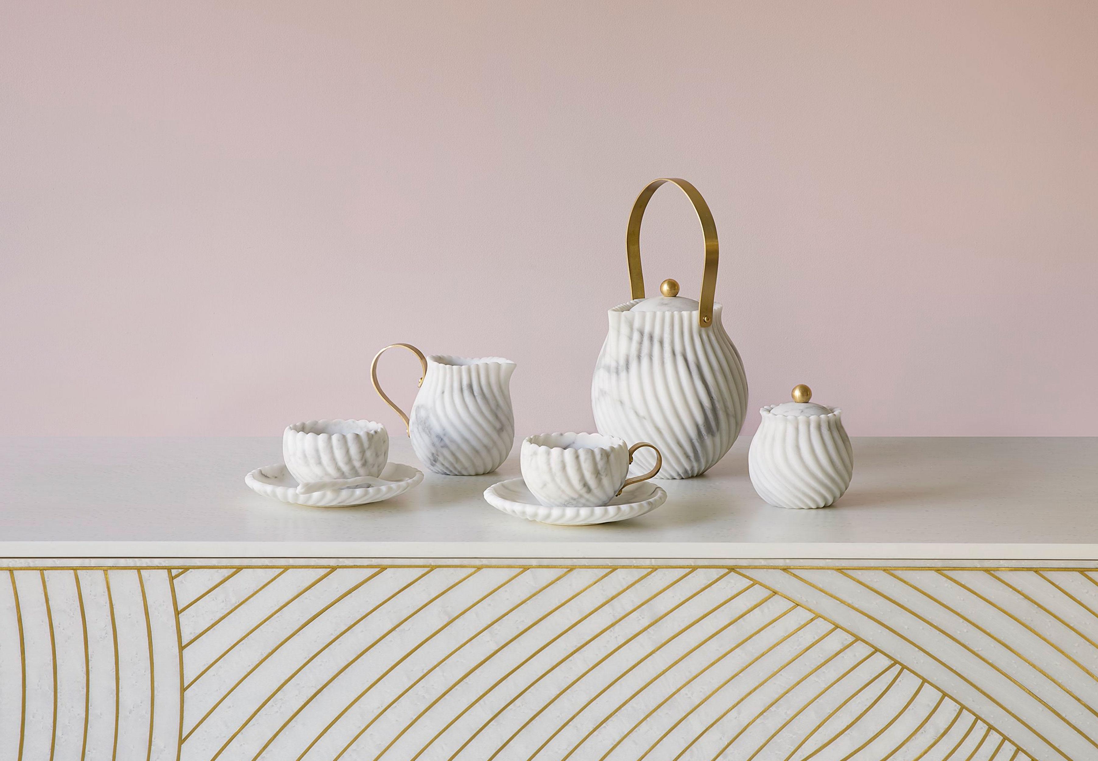 Bethan Gray Victoria marble tea set