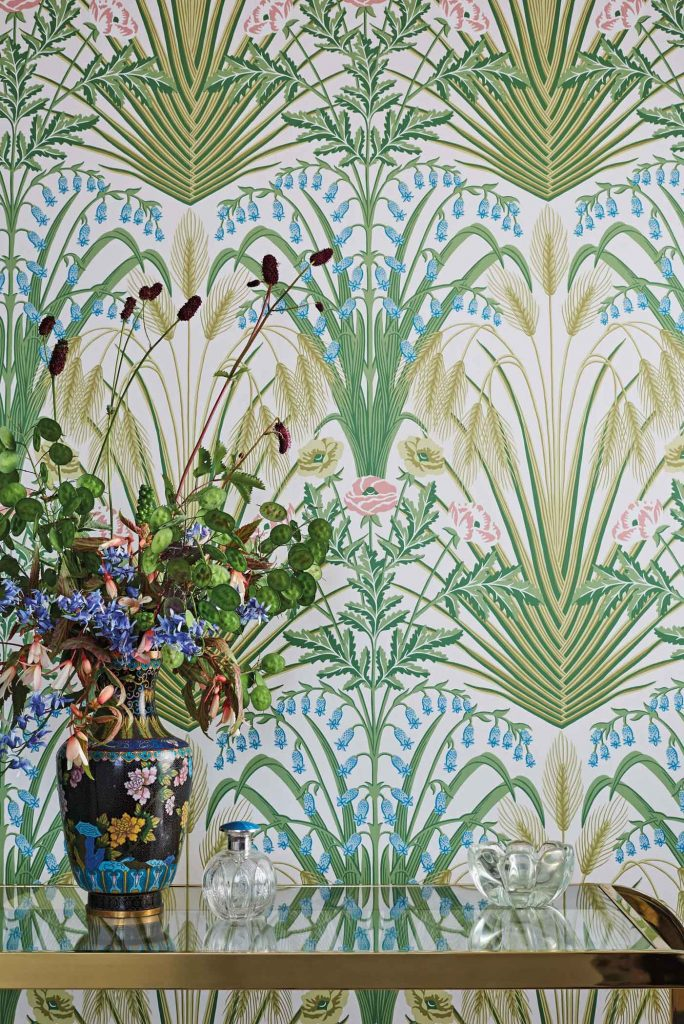 Botanical Botanica Bluebell from Cole + Son.