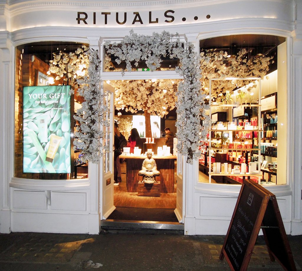 Rituals Store. Covent Garden, London