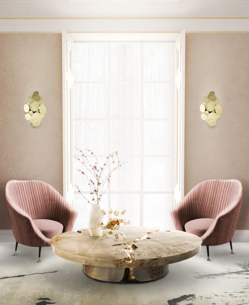 Neutral Blush Colour Room Idea