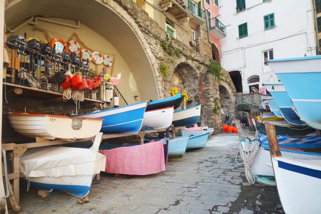 Fishing boats, Riomaggiore, Cinque Terre