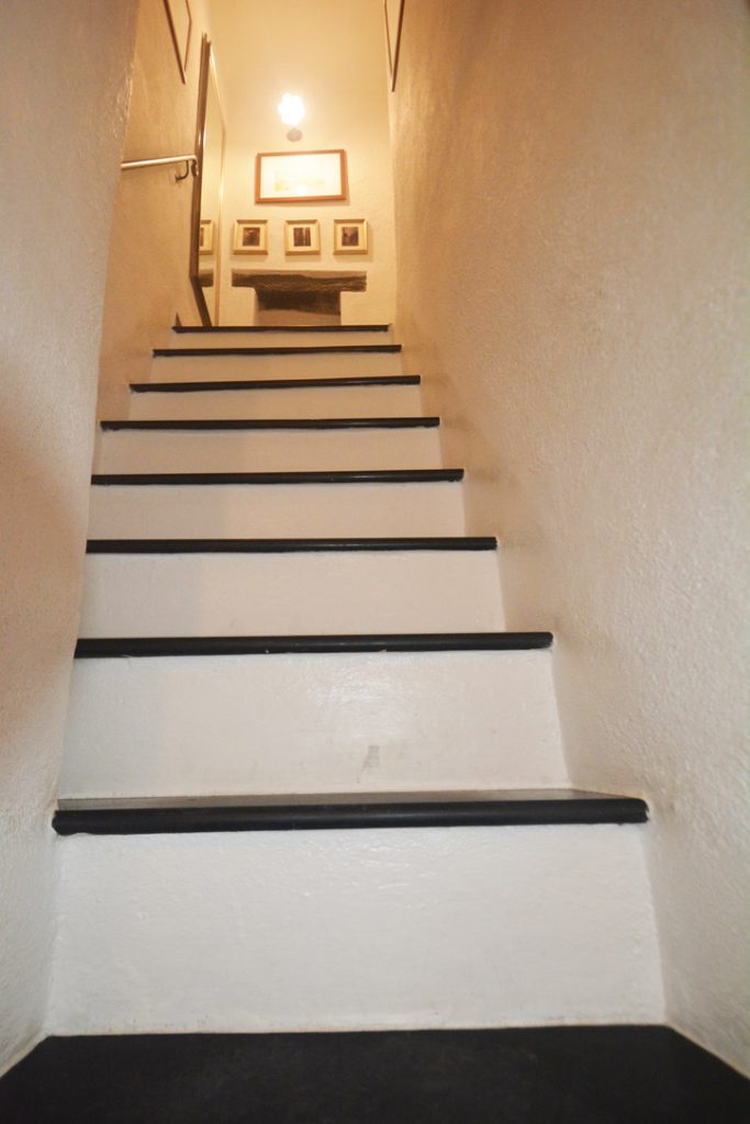 Steep steps in Cinque Terre