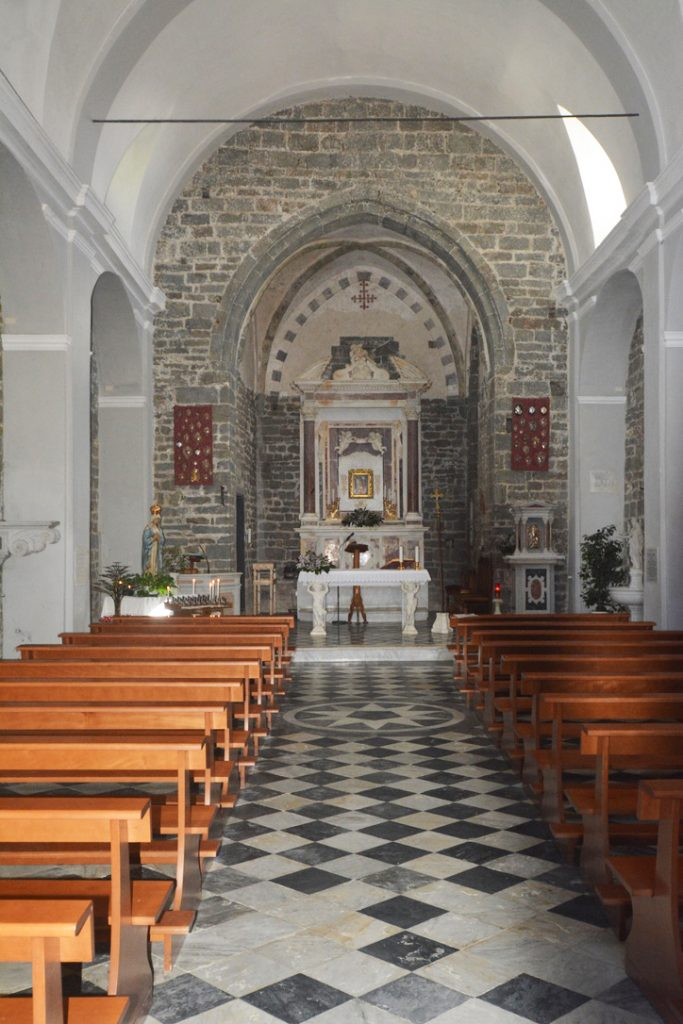 Church in Volostra, Cinque Terre