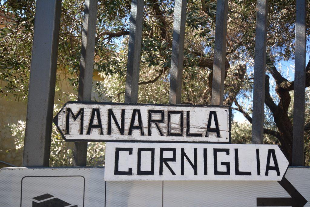 Manarola / Corniglia Signposts, Cinque Terre
