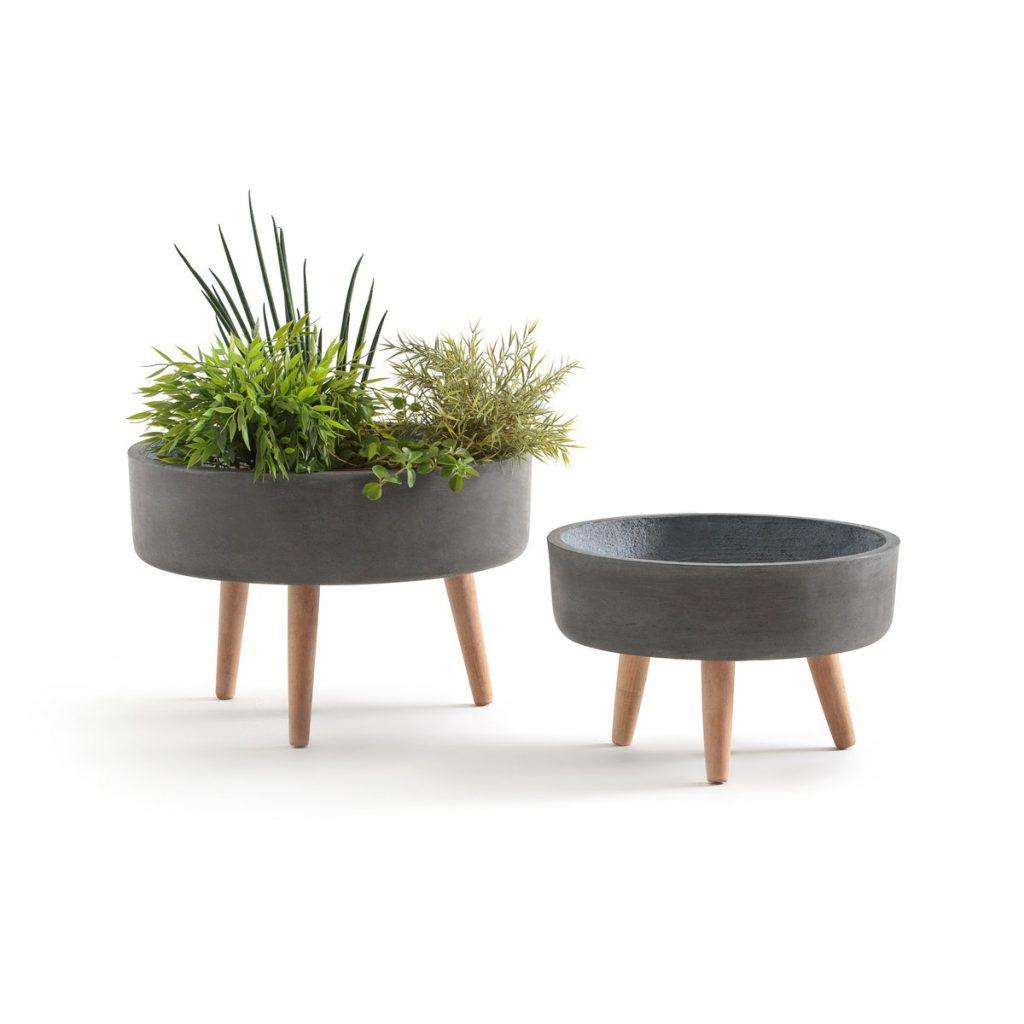 Patio Garden Concrete Planters