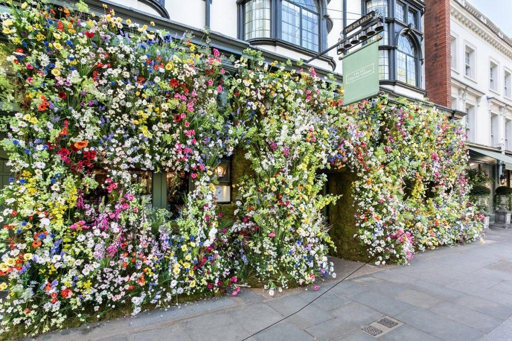 The Ivy Chelsea Garden. Chelsea in Bloom