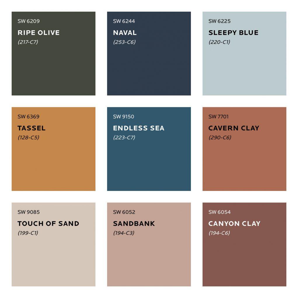 Alive Colour Palette