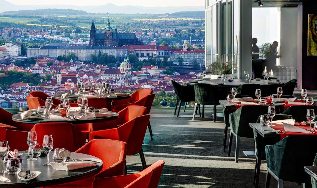 Restaurants with Breathtaking Views: Aureole, Prague.