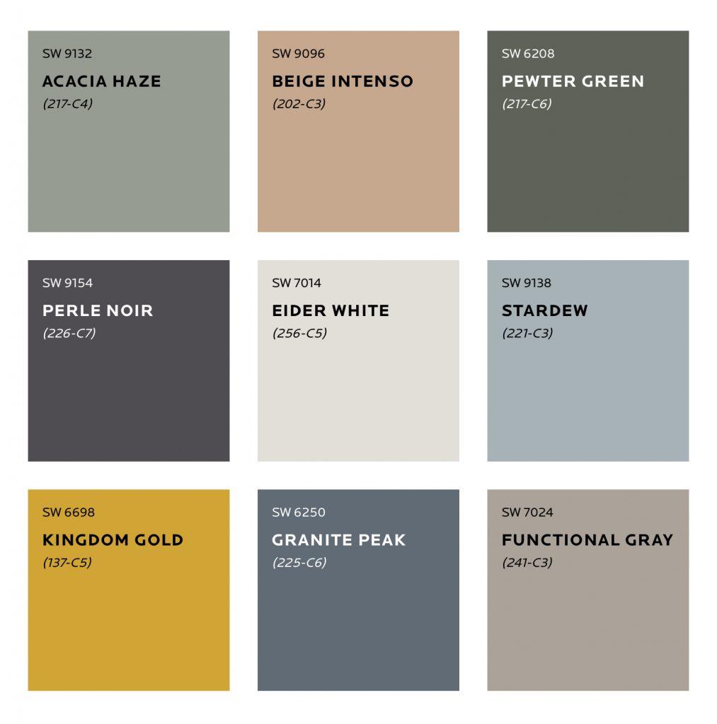 Haven Colour Palette