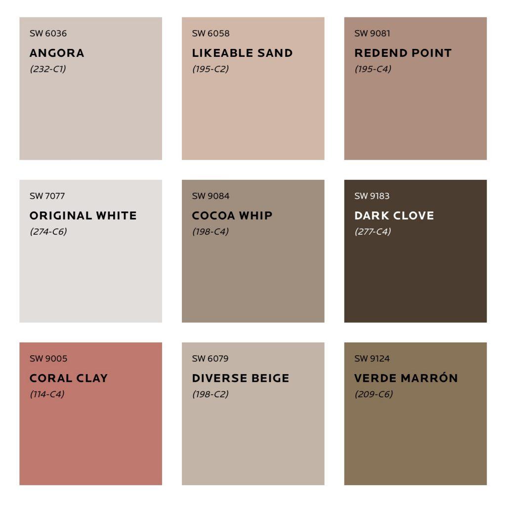 Heart Colour Palette