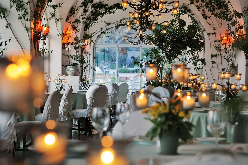 Inside La Sponda Restaurant