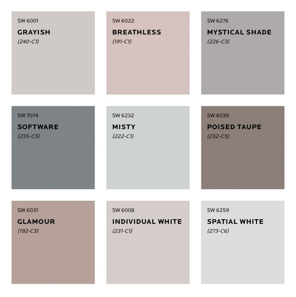 Mantra Colour Palette