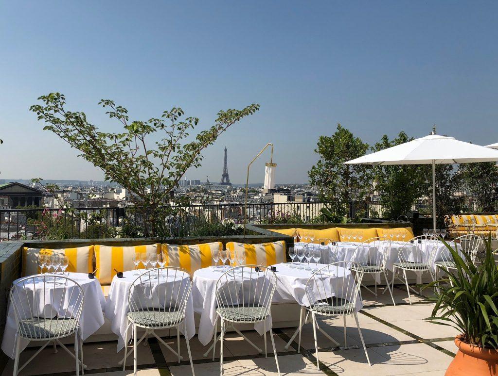 Restaurants with Breathtaking Views: Perruche, Paris.