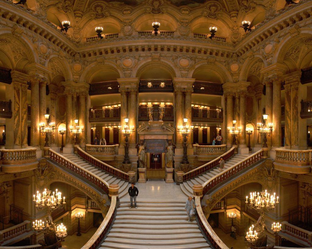 Grand Staircase at the Palais Garnier, Paris