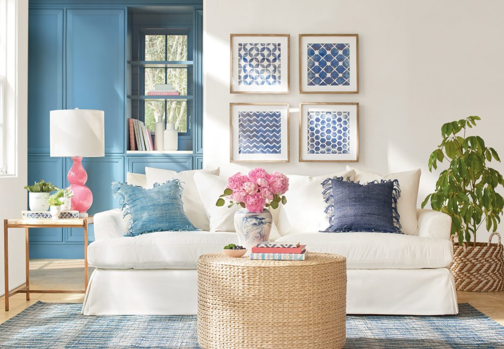 Pink and Blue Interior Inspiration from Will Taylor