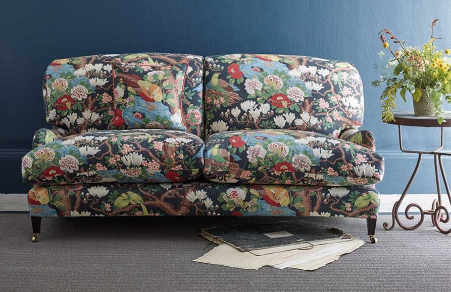 Interior Floral Fabric for Autumn
