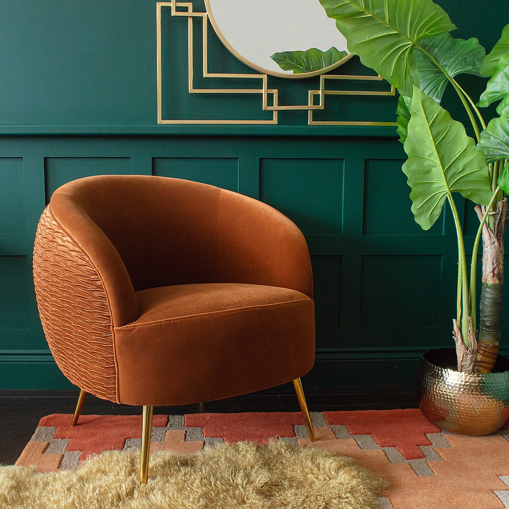 Audenza Autumn Collection: Lola Armchair