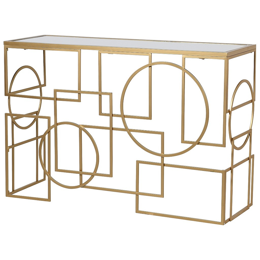 Gold Links Console Table,Audenza Autumn Collection