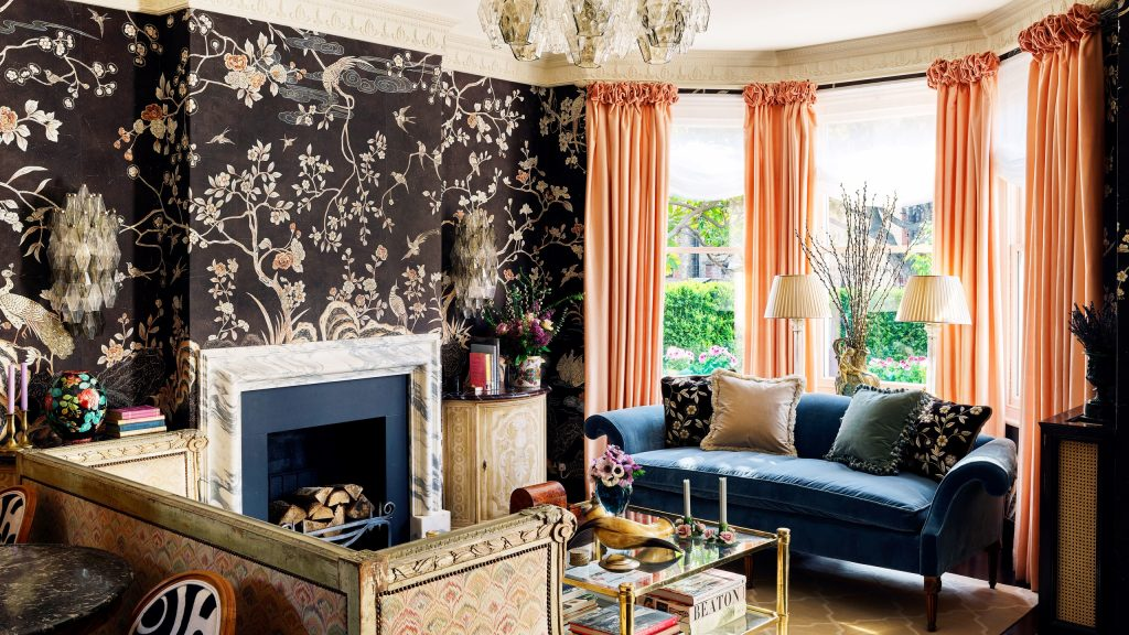 Colourful Maximalist Home Tour: Living Room
