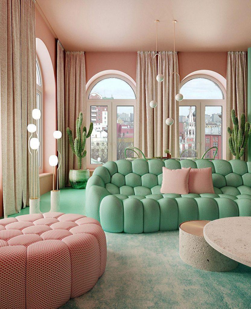 Interior Colour Scheme: Complementary 3
