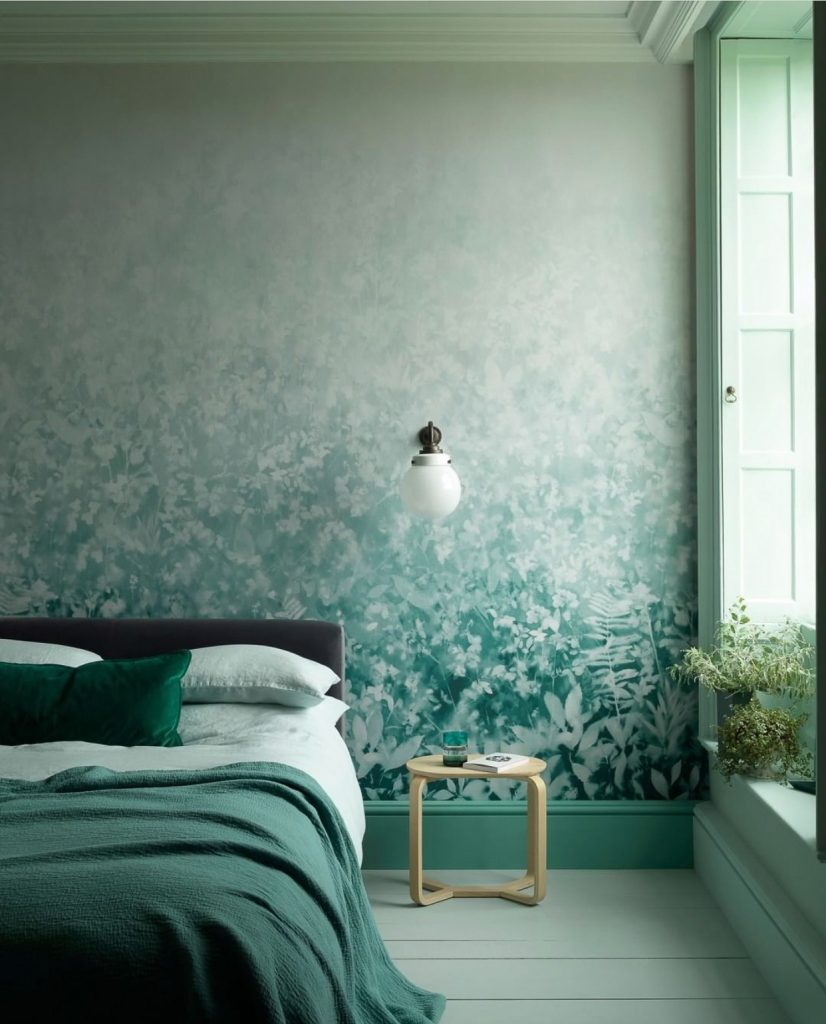 Interior Colour Scheme: Monochromatic Green