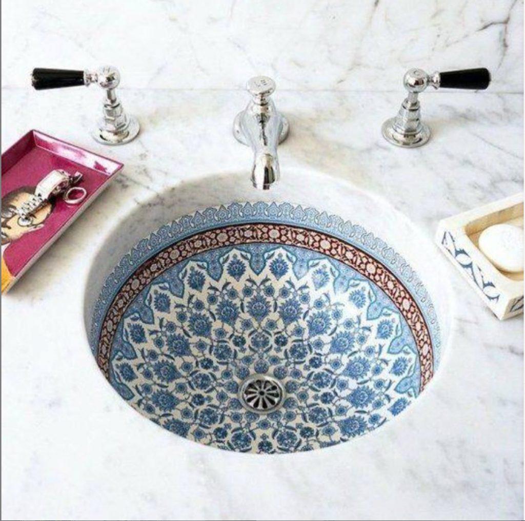 Stunning Countersunk Sink