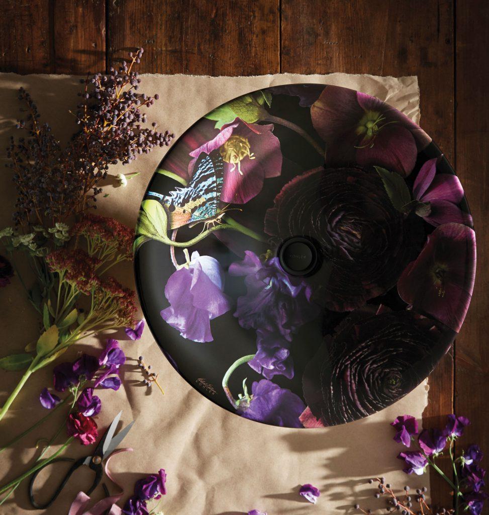 Midnight Floral Sink