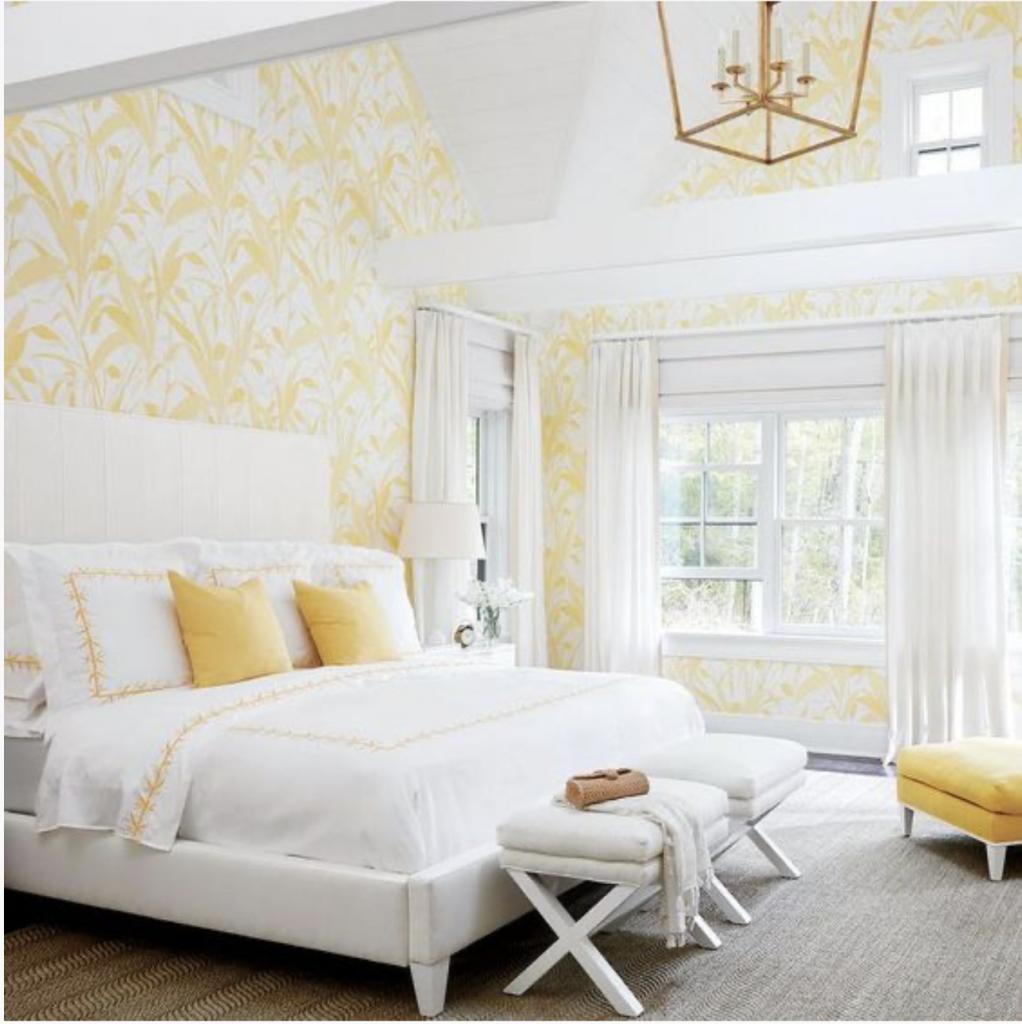 Monochromatic Bedrooms: Yellow