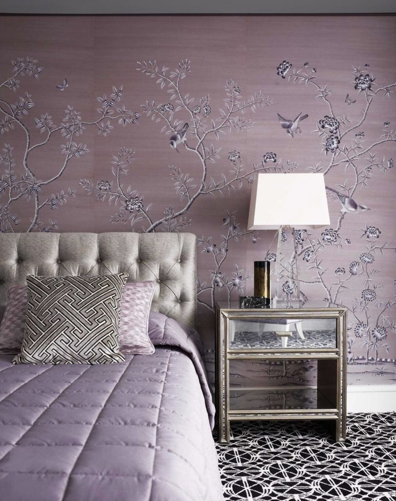 Monochromatic Bedrooms: Lilac