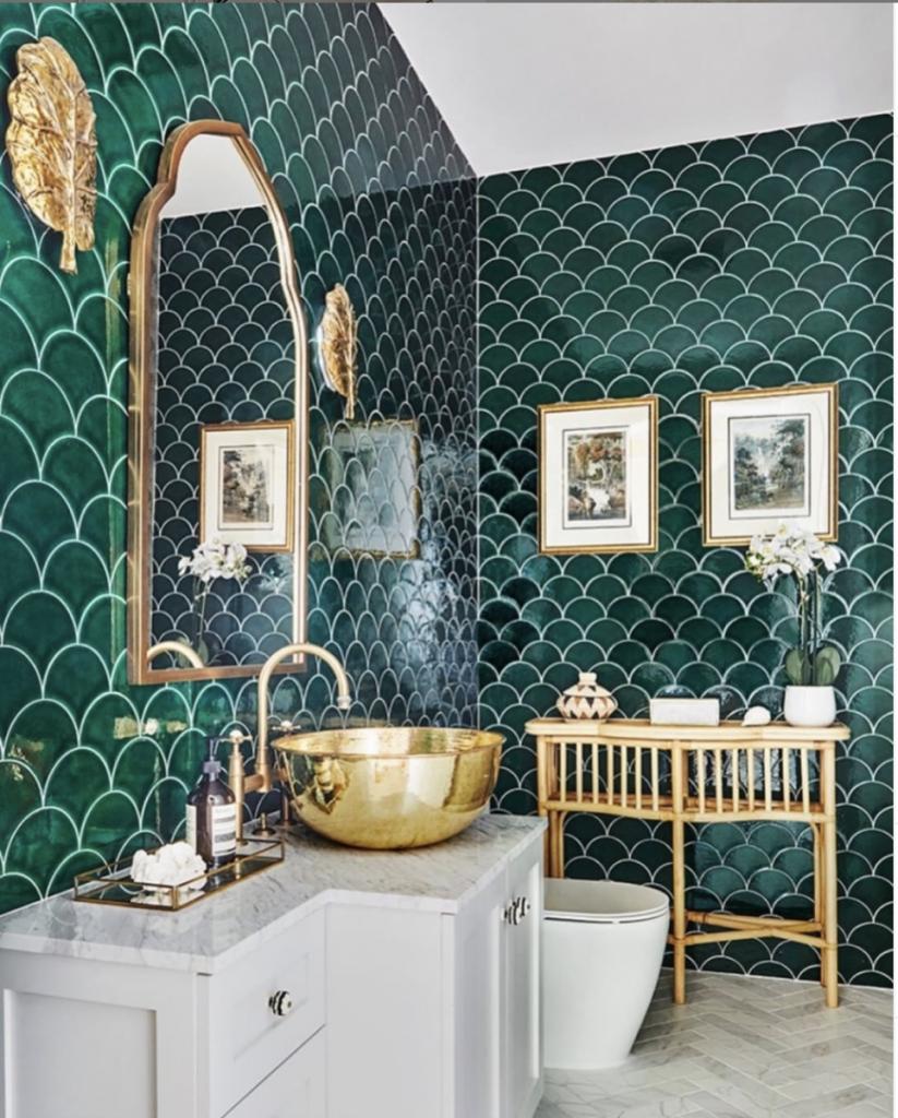 Glamorous Bathroom Tiles